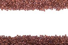 Piec kawowe fasole odizolowywać na białym x28 & tle; horizontal& x29; Zdjęcie Royalty Free