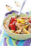 piec kolorowi robić sałatkowi warzywa Obrazy Stock