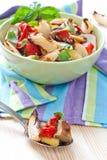 piec kolorowi robić sałatkowi warzywa Fotografia Stock