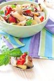piec kolorowi robić sałatkowi warzywa Fotografia Royalty Free