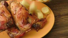 Piec królika mięso zbiory