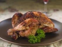 Piec kurczak Zdjęcie Stock