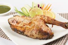 Piec kurczak Zdjęcia Stock