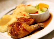 piec kurczak Zdjęcia Royalty Free