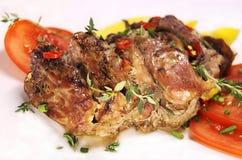 piec mięso Fotografia Stock