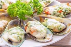 piec mussels nowy Zealand zdjęcie stock