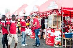 Piec na grillu festiwal Abidjan Obrazy Royalty Free