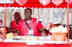 Piec na grillu festiwal Abidjan Fotografia Stock