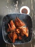Piec na grillu gołąb w Hong Kong stylu Obrazy Stock