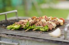 Piec na grillu grill zdjęcie stock