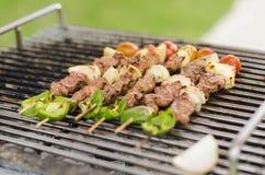 Piec na grillu grill zdjęcie royalty free