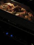 piec na grillu jagnięcy piekarnik zdjęcia royalty free