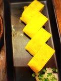 Piec na grillu jajeczna rolka w Japońskim stylu Obraz Stock