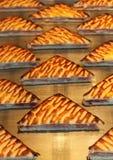 Piec na grillu kanapki Zdjęcia Stock