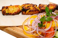piec na grillu kebab Zdjęcia Stock