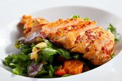 Piec na grillu kurczak pierś obraz stock