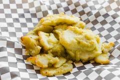 Piec na grillu kurczaka filet satay z arachidowym kumberlandem Obraz Royalty Free