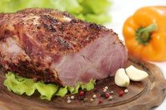 piec na grillu mięso zdjęcie royalty free