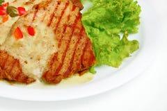 piec na grillu mięso Obrazy Stock