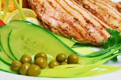 piec na grillu mięso Zdjęcia Stock