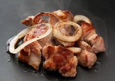 Piec na grillu mięso z Orion Zdjęcie Royalty Free