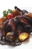 Piec na grillu ośmiornica Fotografia Stock