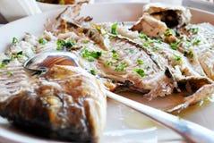 Piec na grillu owoce morza Zdjęcie Stock