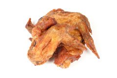 Piec na grillu pieczonego kurczaka Bawoli skrzydło Fotografia Royalty Free
