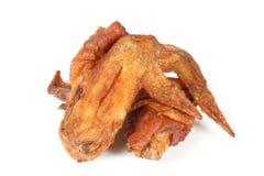 Piec na grillu pieczonego kurczaka Bawoli skrzydło Obraz Stock