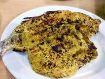 Piec na grillu rybiego indonezyjskiego jedzenie - azjatykciego posiłku sławny tradycyjny zdjęcia stock