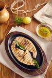 piec na grillu swordfish zdjęcia royalty free