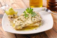Piec na grillu swordfish przepasuje zdjęcie royalty free