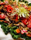 piec na grillu warzywa Zdjęcia Stock