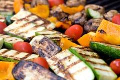piec na grillu warzywa Obraz Royalty Free