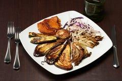 piec na grillu warzywa Obraz Stock