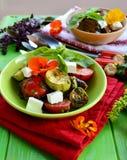 Piec na grillu warzywa Obrazy Royalty Free
