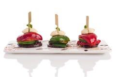 Piec na grillu warzywo Fotografia Royalty Free