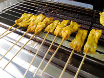 Piec na grillu wieprzowina Zdjęcie Royalty Free
