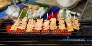 Piec na grillu wieprzowina Obrazy Royalty Free
