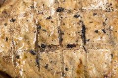 Piec na grillu wieprzowina na kości Fotografia Royalty Free