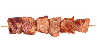 Piec na grillu wieprzowiny mięso fotografia stock