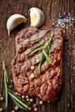 Piec na grillu wołowina stek Fotografia Royalty Free