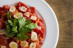 Piec Pieprzowa sałatka Jarzynowi foods zdjęcie royalty free