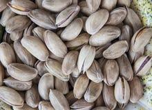 Piec pistacjowy zbliżenie krótkopęd Obrazy Royalty Free