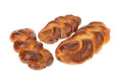 Piec rolki robić od banatki i ziaren chleb. Zdjęcie Royalty Free