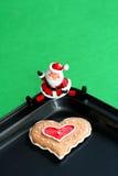 piec Santa miłości. Zdjęcie Stock