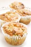 piec sera świeżo muffins szpinak Zdjęcie Royalty Free
