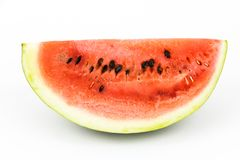Piec van watermeloen Stock Fotografie