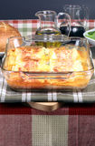 piec włoski lasagna właśnie Zdjęcia Stock