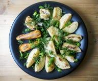 Piec warzywa grule, marchewki i kalafior -, zdjęcia royalty free